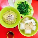 For healthier option near office, Koo kee yong tau fu (高记酿豆腐面)!