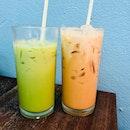 Thai milk tea or green milk tea?