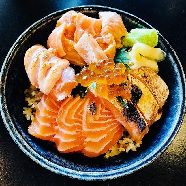 Finally made it to @tanukiraw for my Salmon Kaisen Don during lunch yesterday!