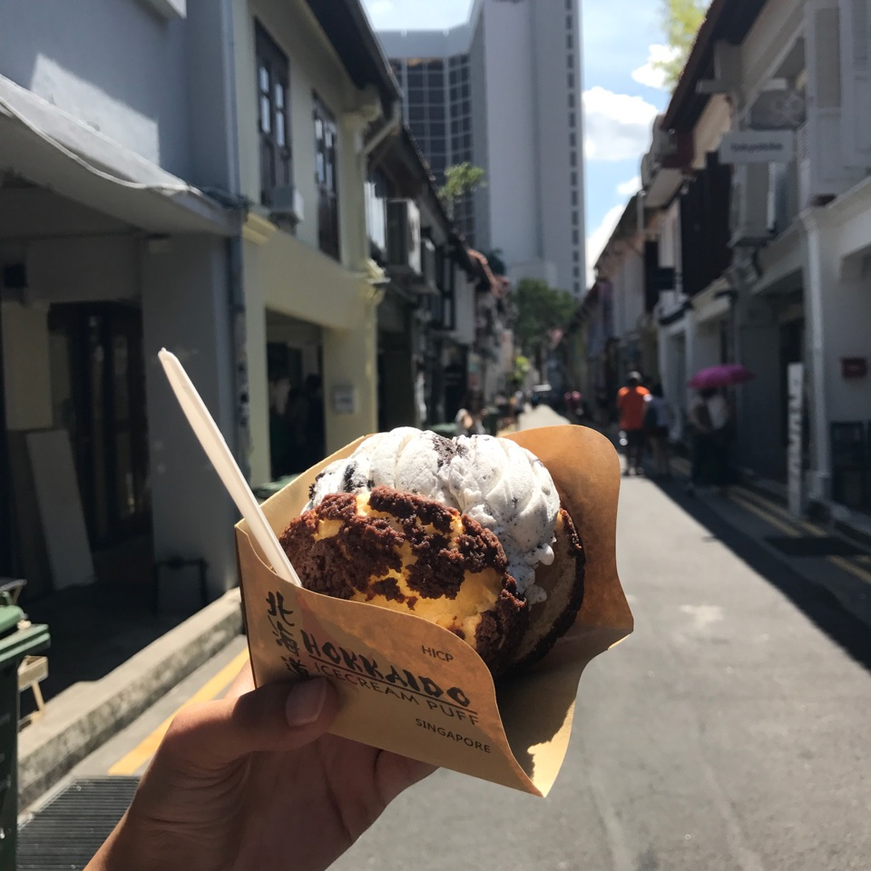Satisfying Treat on Haji Lane ☺️