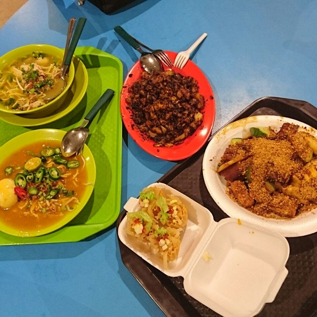 A variety of Hawker Goodness