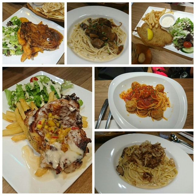 Love cafe with good food