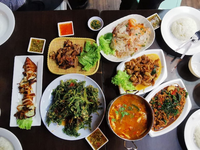 Awesome Thai food that won't break your bank!