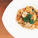 Seafood Pasta With Lobster Sauce