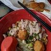 Minced Pork Noodles + Salt Baked Chicken Thigh [$4.50 + $5.80]