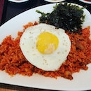 Had kimchi fried rice with pork yesterday!