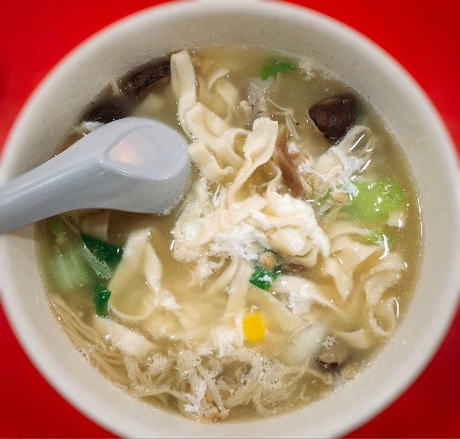 Fresh Mushroom Ban Mian