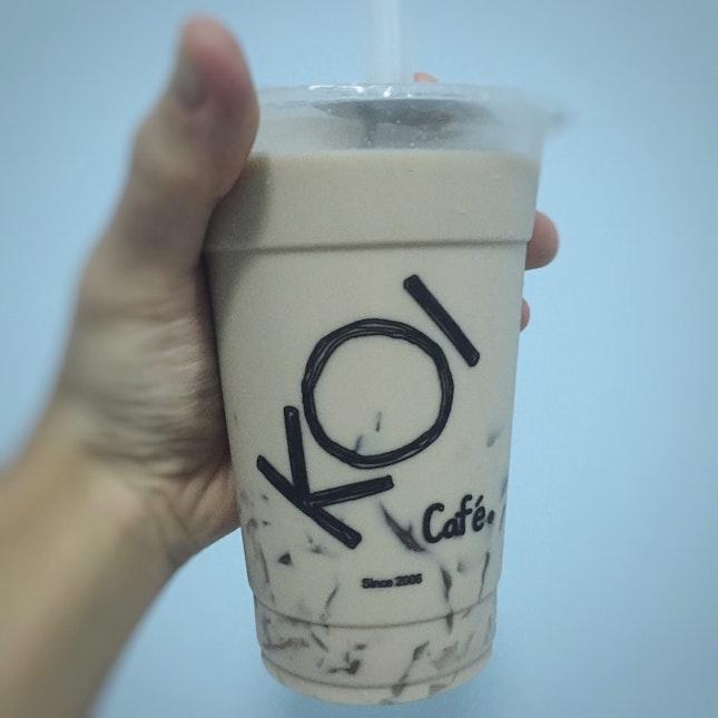 Aiyu Jelly Milk Tea