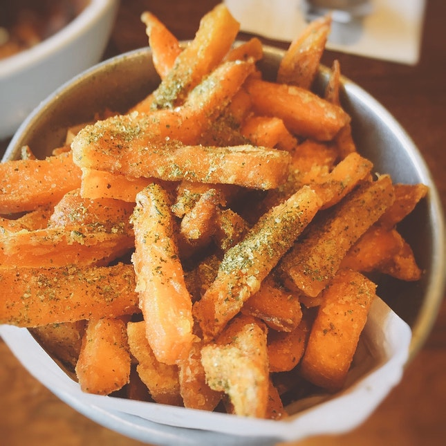 Truffle Sweet Potato Fries