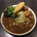Giant Fish Katsu Curry Rice