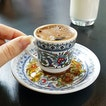 Turkish coffee at Arkadas Cafe.