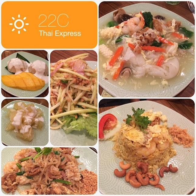Sunday Family Dinner @ Thai Express #burpple