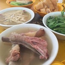 Spare Ribs Soup ($7) Tang-O Vegetable Soup ($4) Enoki Mushroom Soup ($4)  BKT at Balestier.
