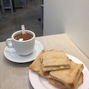 Been a while since I last had my kopi ($1.70) & toast ($2).