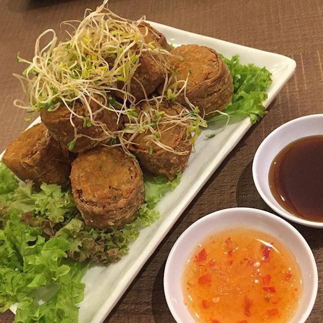 Homemade Ngoh Hiang ($8.90) 🏠 Ok ok la.