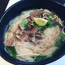 Beef Bee Hoon Soup ($8.90) 🍜 Double boiled broth full of richness.