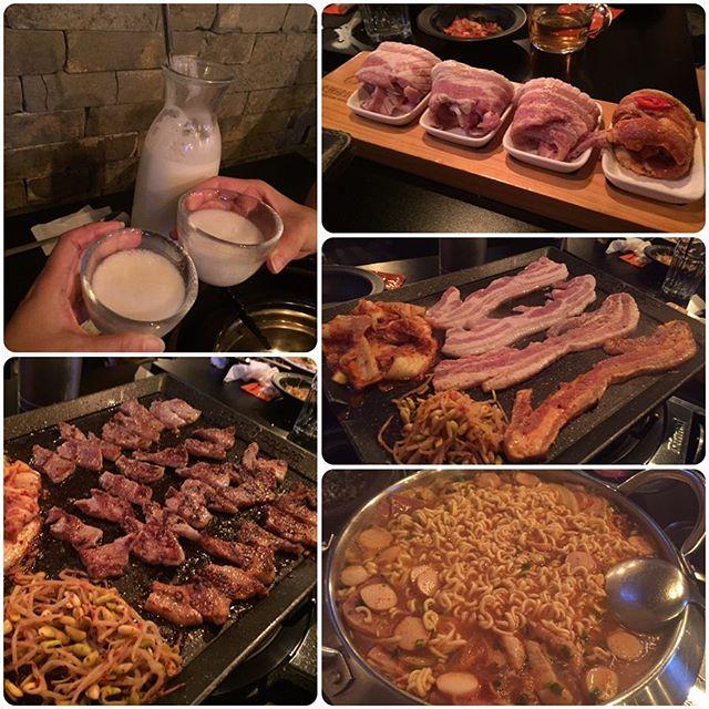 Korean BBQ for Friday 😘😘 .