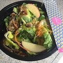 Little San Salad ($7.90) 🥗 Mixed lettuce .