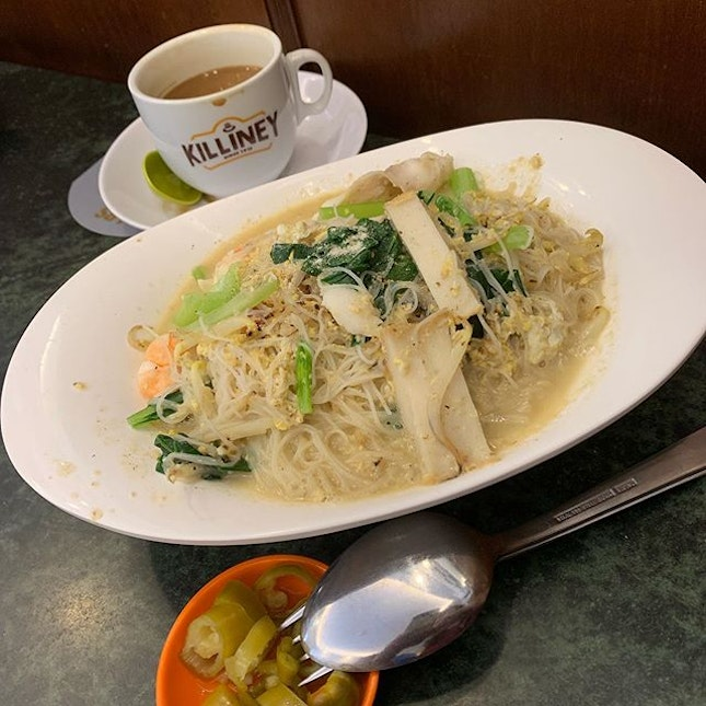 White Bee Hoon ($5.80) - looked decent but taste was missing - super tasteless!!