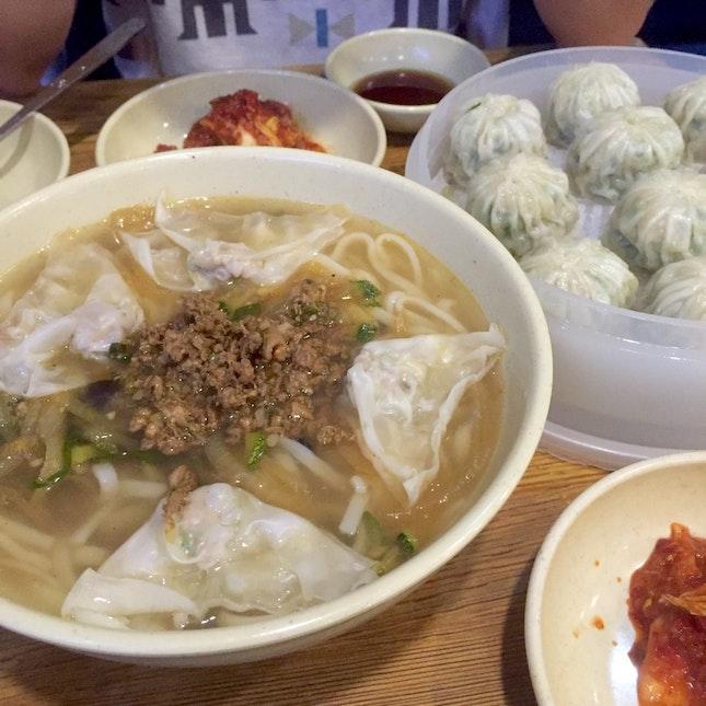 Best Noodles And Mandu (っ˘ڡ˘ς)