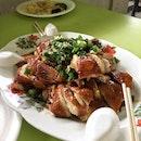 Rose Wine Soya Sauce Chicken ($22)