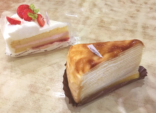 Legendary Fresh Cream Cake + White Zebra