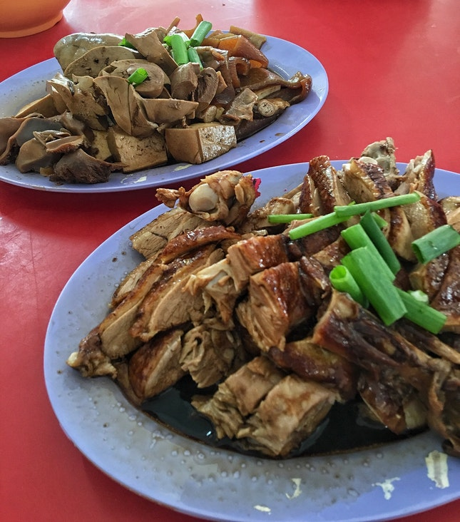 Run Ji Duck Porridge