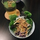 Mint Tea and Salad (Comes With the Set Lunch)