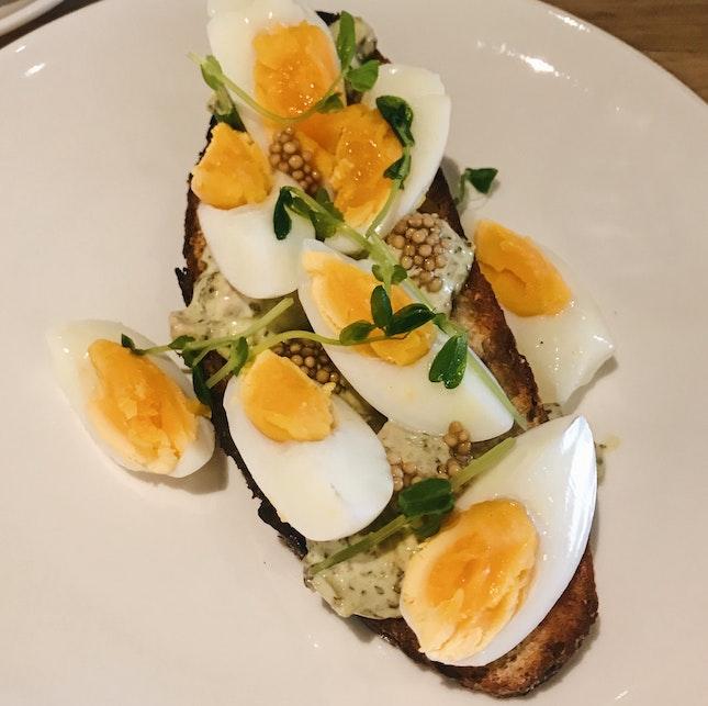 Chopped Egg Salad On Sourdough (RM18)