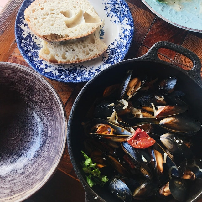 Scottish Blue Mussels ($30, 1-for-1 With Burpple Beyond)
