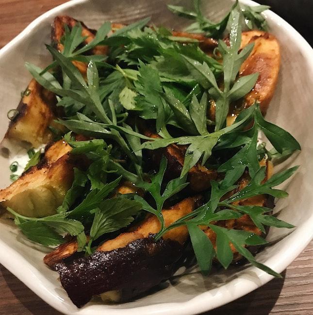 Sweet Potatoes With Smoked Yoghurt (RM27)