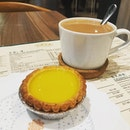 This time I tasted the tart at the shop!