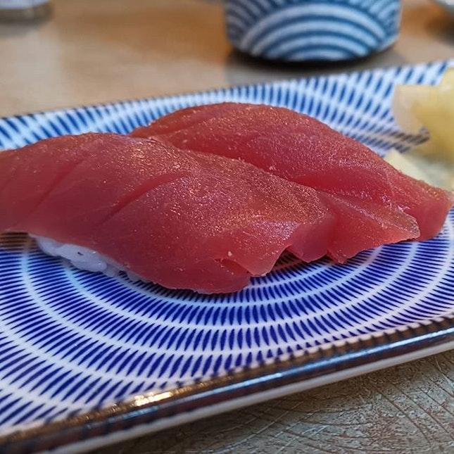 Maguro nigiri , fresh!