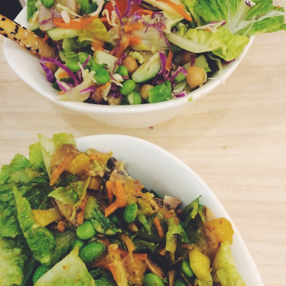 Wholesome Salad With Awesome Sauce