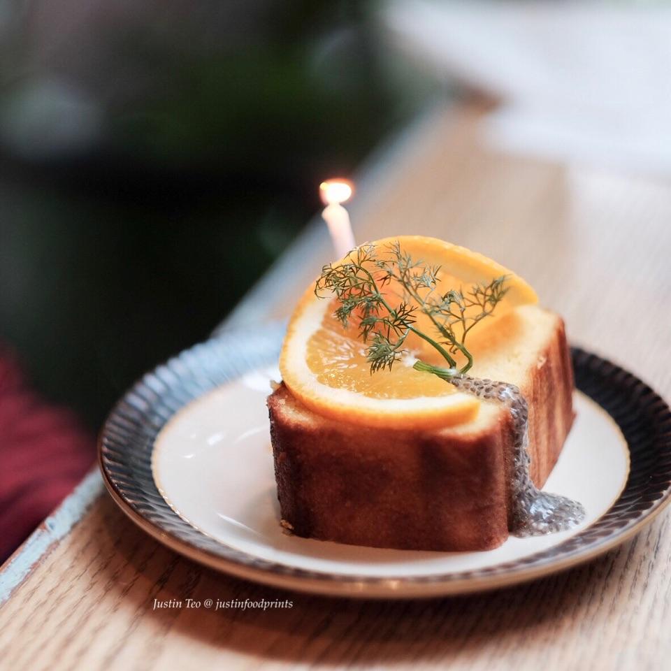 Orange Lemon Pound Cake [$8]