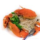 Crab Beehoon ($102 using 1.5kg crab, $68/kg).