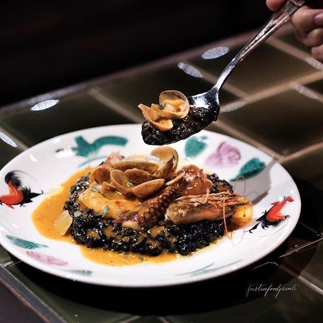 Squid Rice ($28).