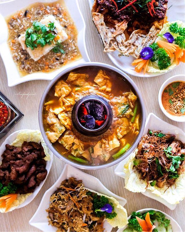 Spread at Spicy Thai Thai