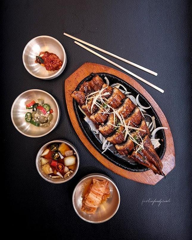 [Limited Time] Korean Unagi on hotplate ($19.90).
