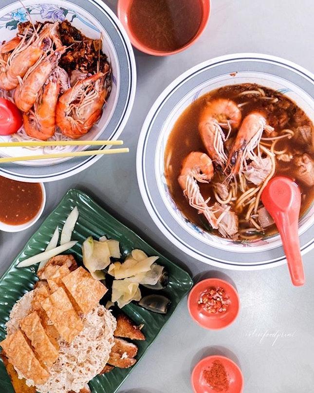 Jalan Sultan Prawn Mee ($10 bowl pictured).