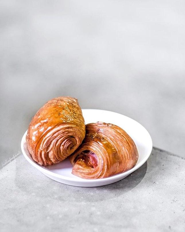 Ham & Gruyere Croissant ($9).