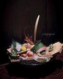 Fukusen Sashimi Platter (part of 8 course omakase at $160++/pax.