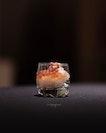 Sake with Tapas, served during a sake event.
