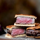 [Every Sat lunch only] Wagyu Steak Sandwich ($58).