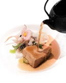 Smoked Foie Gras (4th course of 8 course menu at $197++; or 265++ with wine pairing).