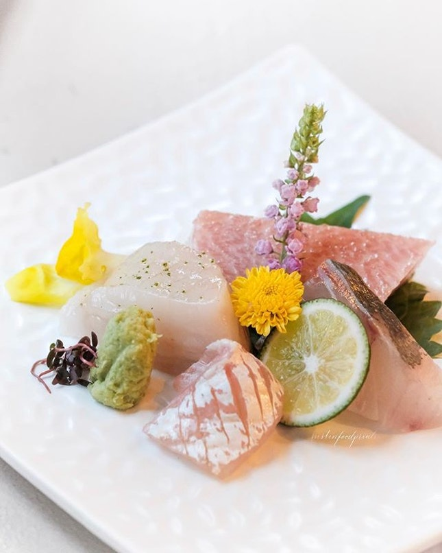Sashimi (Inclusive in 8-course semi omakase dinner at $168++).
