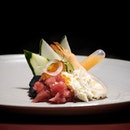 Chirashi Black Causa (part of 7 course menu at $188++).