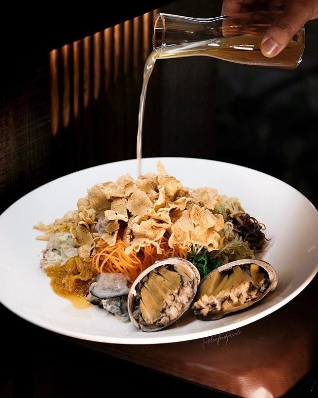 Abalone Yusheng ($98, serves 3 to 5.