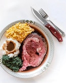[Valentine's Exclusive for Tmr] Signature Prime Rib of Beef (included in 6 course Valentine's Day menu at $188++).