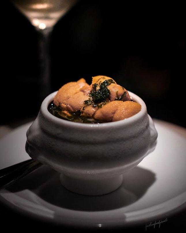 Sea Urchin Pudding ($46).